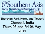 6th Southern Asia Ports, Logistics and Shipping 2011